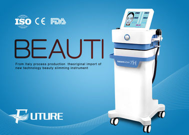 Chiny Hifu High Intensity Focused Ultrasound Machine, Hifu Facelift Treatment Głębokość 4mm dystrybutor
